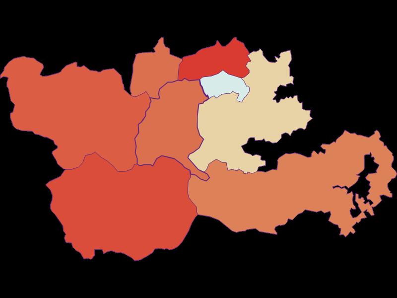 Population development since 1869 in Trattenbach