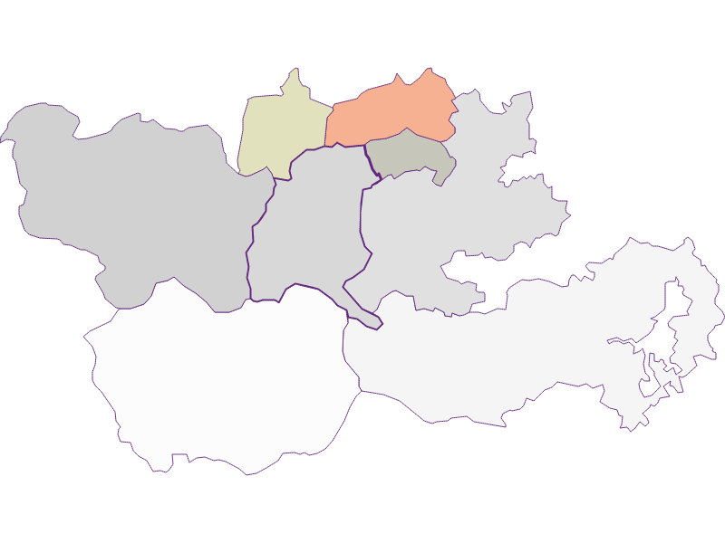 Farmers (comparison to federal state) in Trattenbach