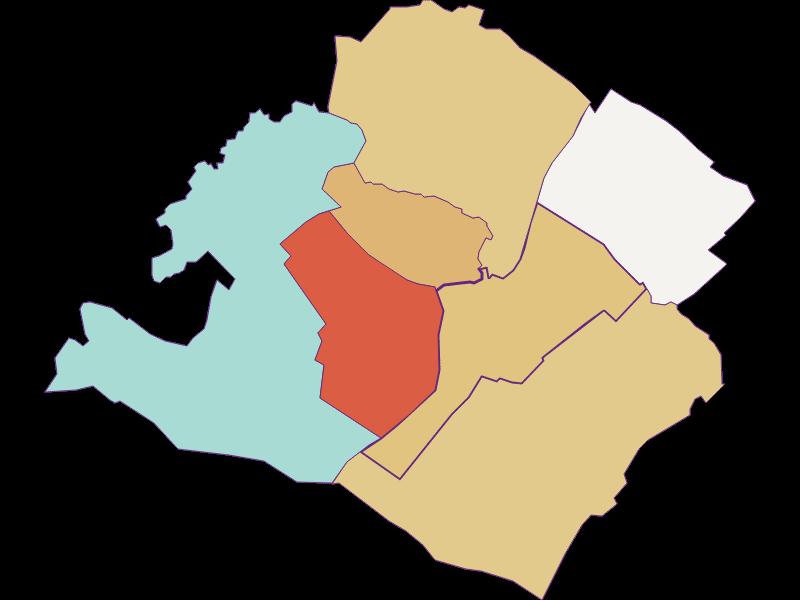 Population development since 1900 in Gattendorf