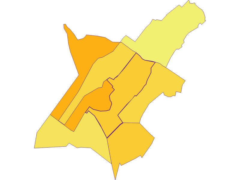 Population density in Gols
