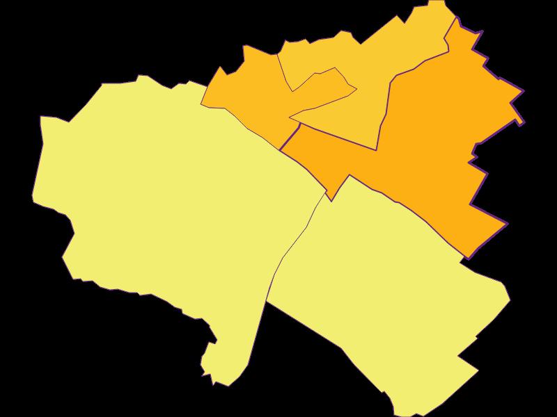 Плотность населения в Kittsee