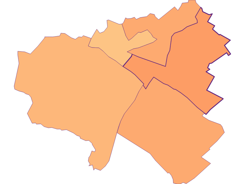 Размер домохозяйства в Kittsee