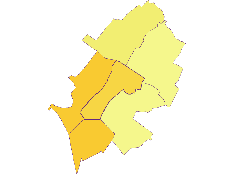Плотность населения в Mönchhof