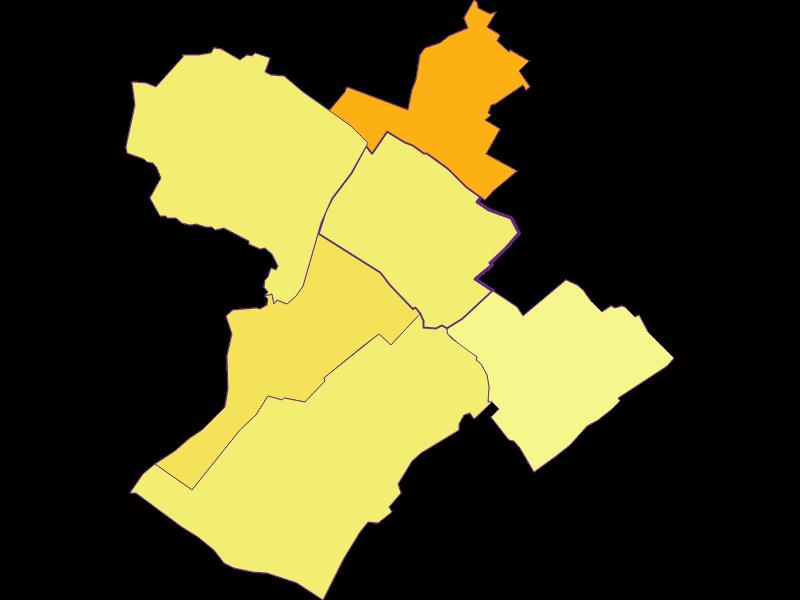 Плотность населения в Pama