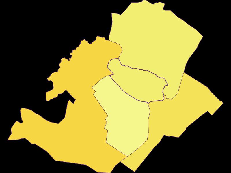 Плотность населения в Potzneusiedl
