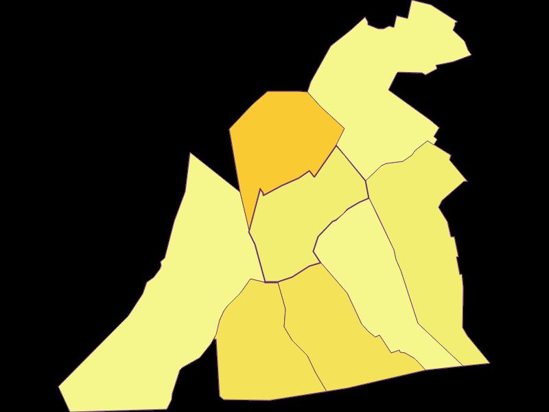Плотность населения в Sankt Andrä am Zicksee