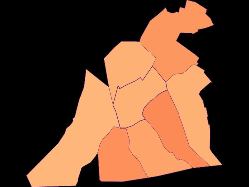 Размер домохозяйства в Sankt Andrä am Zicksee
