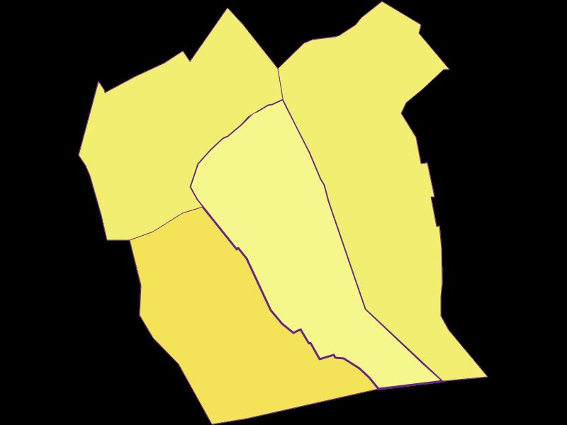 Плотность населения в Tadten
