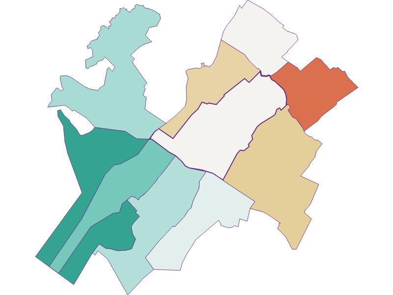 Population development since 1869 in Zurndorf