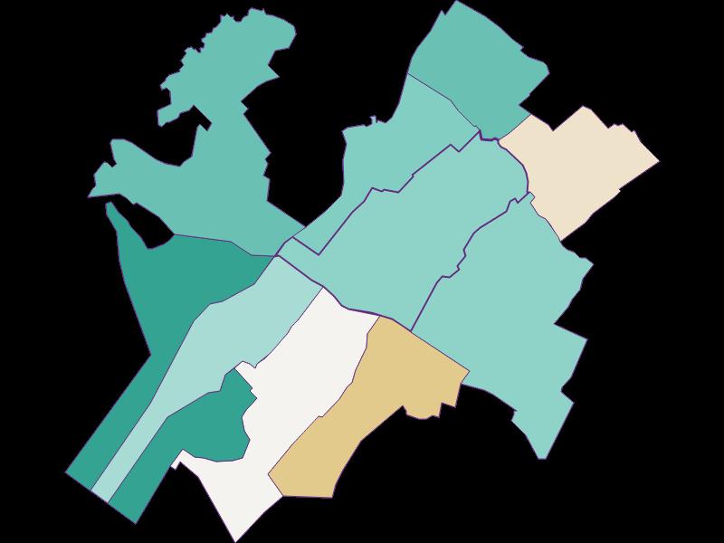 Population development since 2011 in Zurndorf