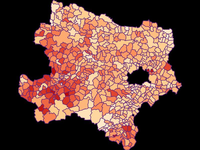 Household size in Niederösterreich