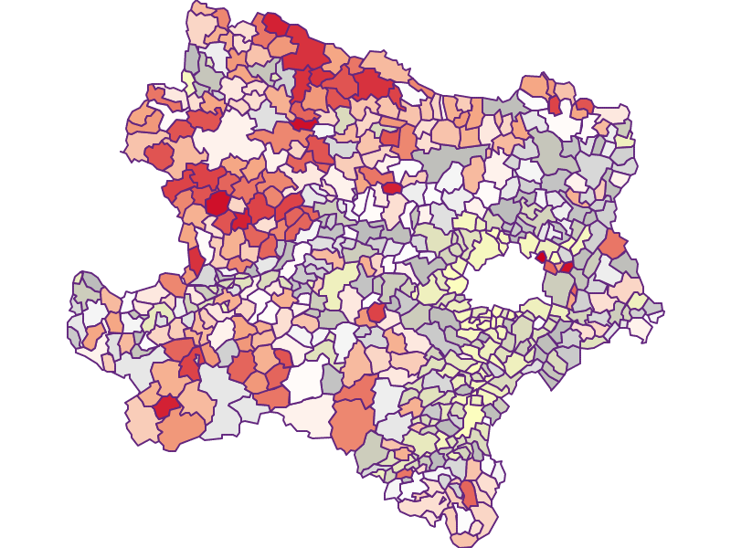 Landwirte (Österreich-Vergleich) in Niederösterreich