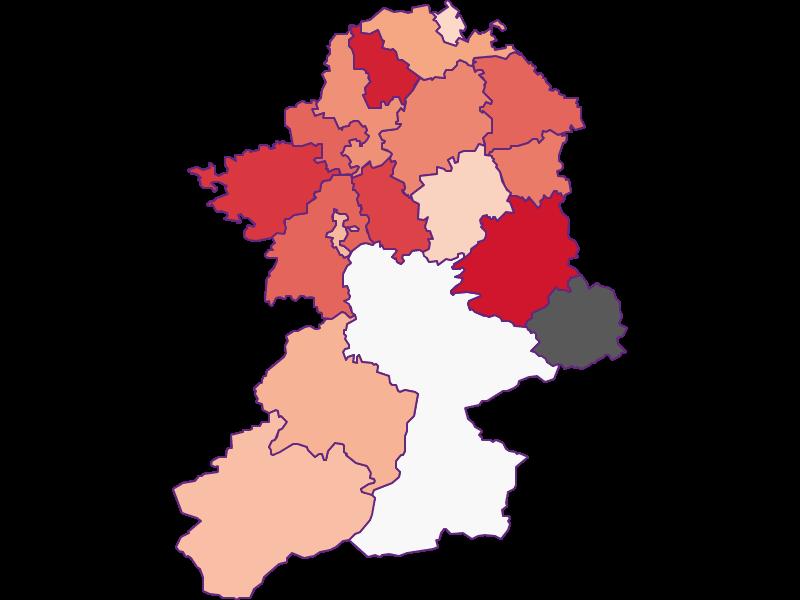 Activity rate in Scheibbs