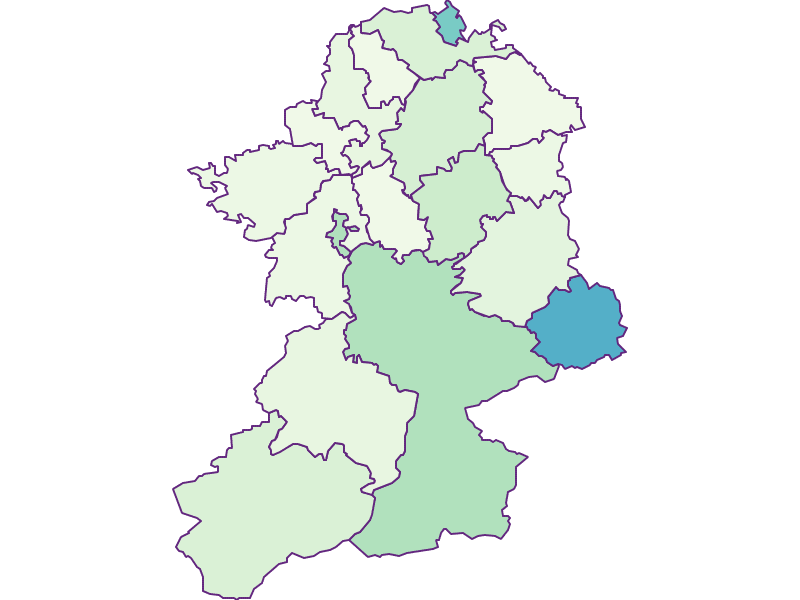 Share of foreigners in Scheibbs