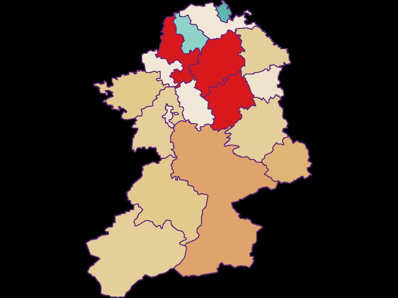 Population development since 2011 in Scheibbs
