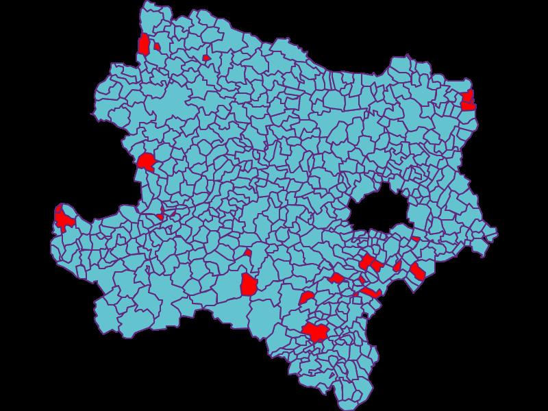 General Elections in Austria in Niederösterreich