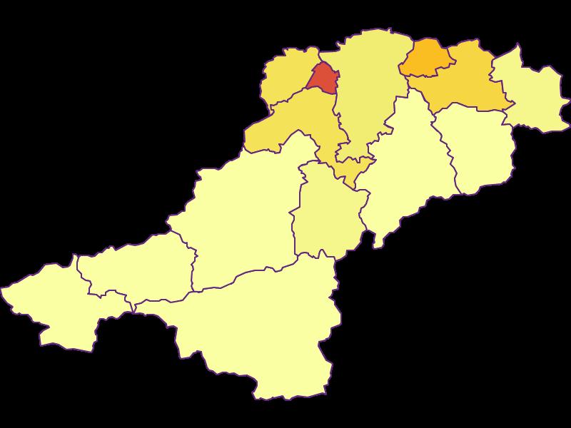 Population density in Lilienfeld