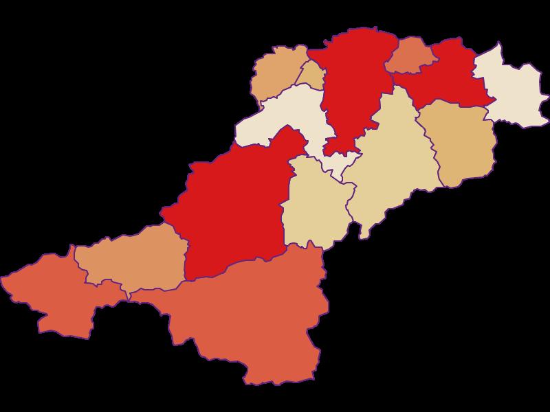 Population development since 2011 in Lilienfeld