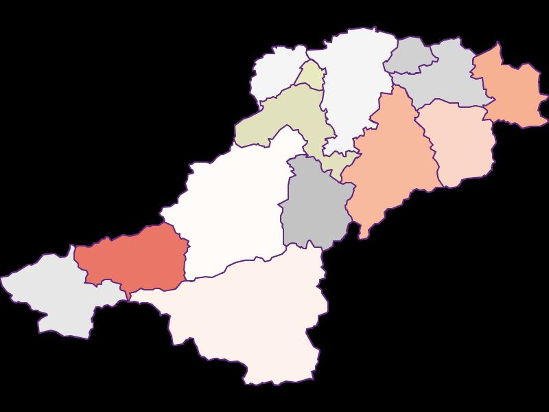 Farmers (comparison to Austria) in Lilienfeld