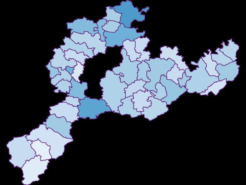 Безработица в Sankt Pölten(Land)