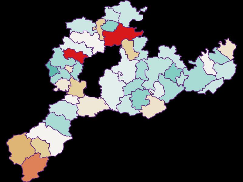 Демография с 2011 года в Sankt Pölten(Land)