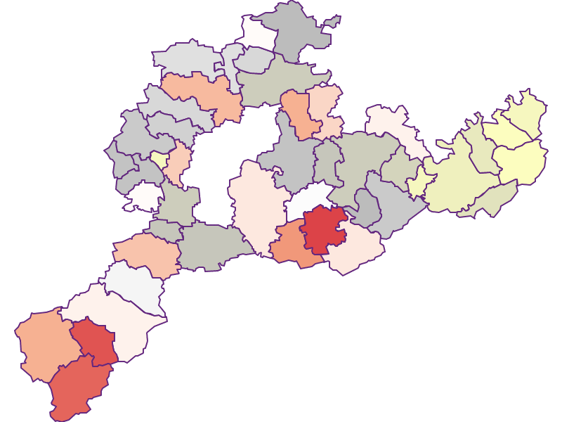 Фермеры (сравнение по Австрии) в Sankt Pölten(Land)