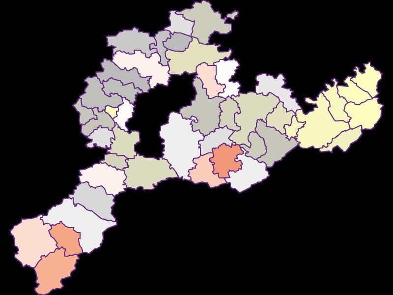 Фермеры (сравнение по Фед. землям) в Sankt Pölten(Land)