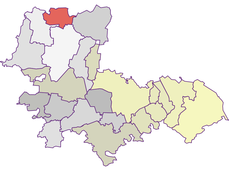 Farmers (comparison to federal state) in Tulln