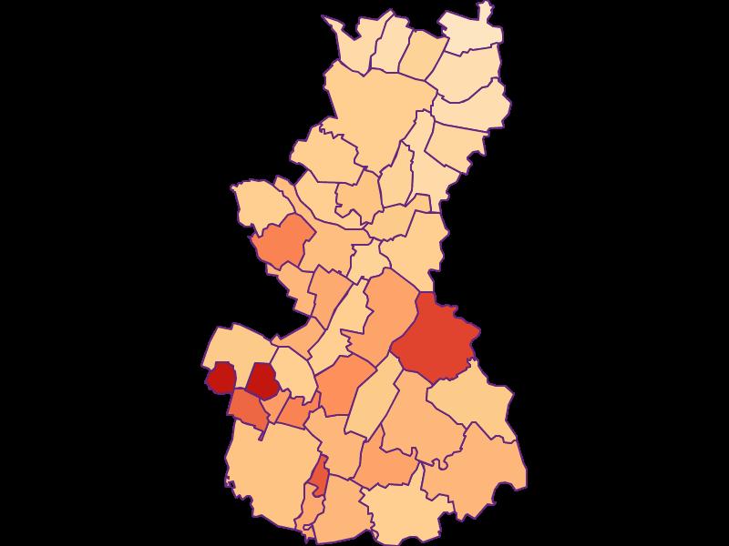 Размер домохозяйства в Gänserndorf