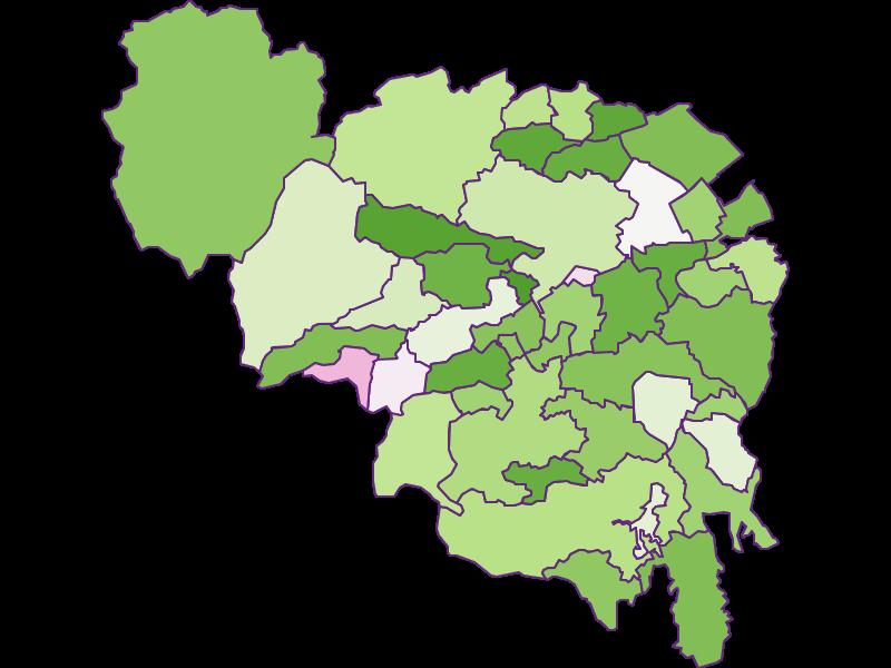 Заселенность в Neunkirchen