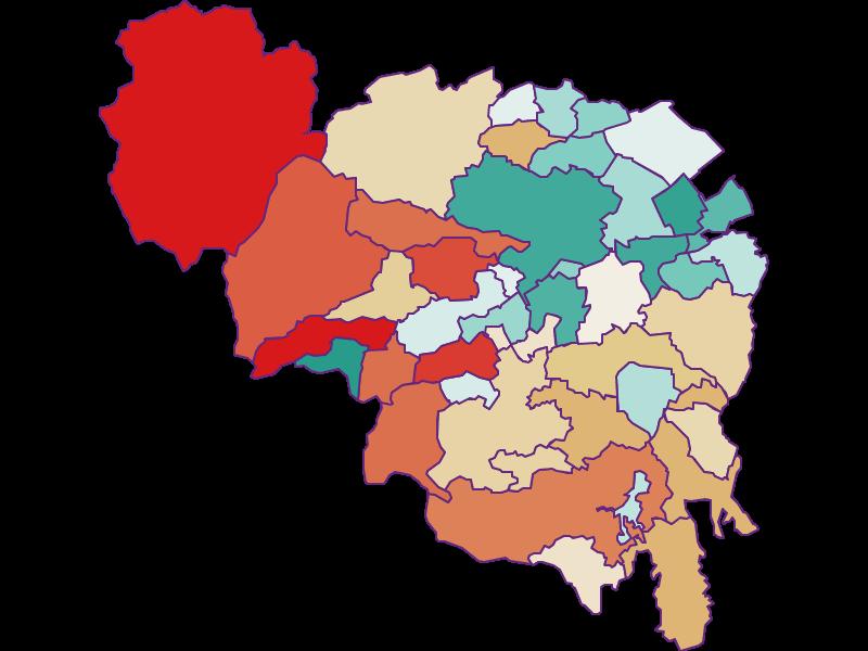Демография с 1869 года в Neunkirchen