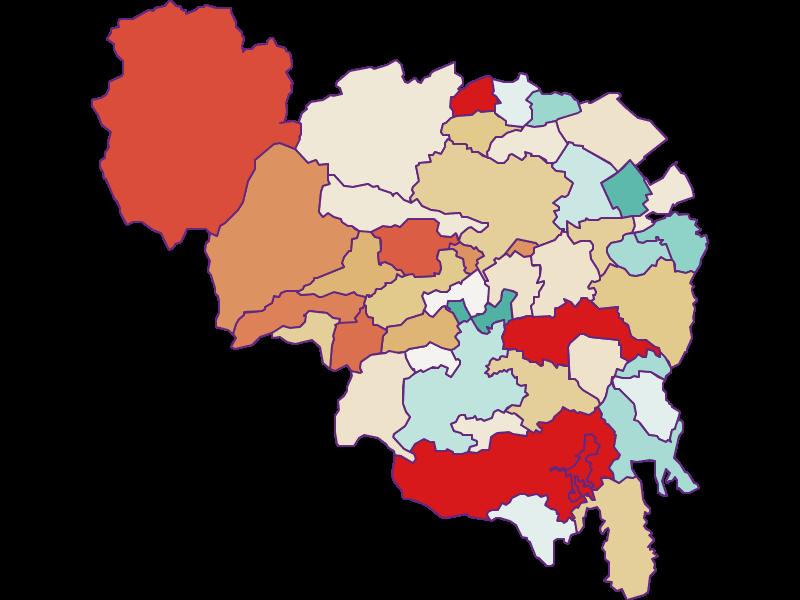 Демография с 2011 года в Neunkirchen