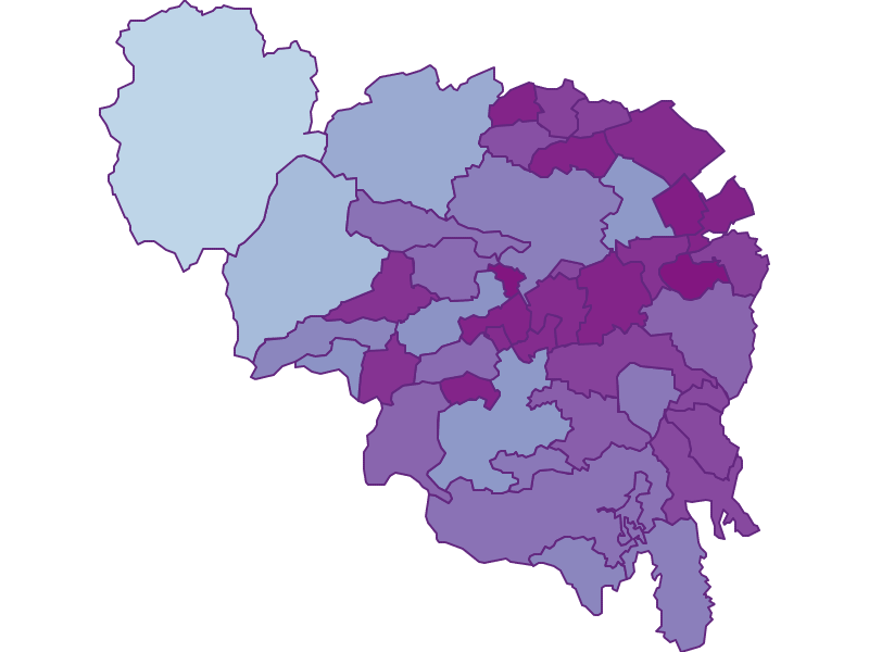 Маятниковые мигранты в Neunkirchen