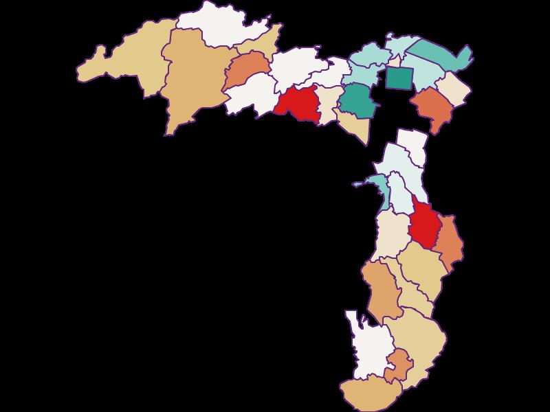 Демография с 2011 года в Wiener Neustadt(Land)