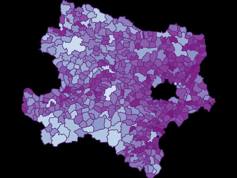 Pendler in Niederösterreich