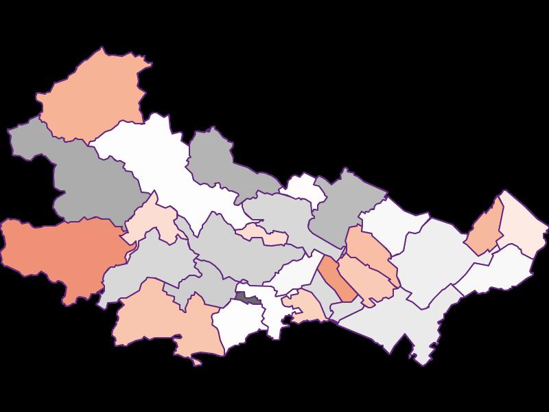 Bevölkerungsaktivität in Baden