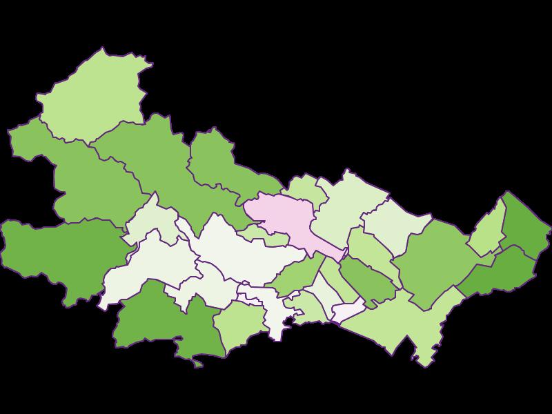Besiedlung in Baden