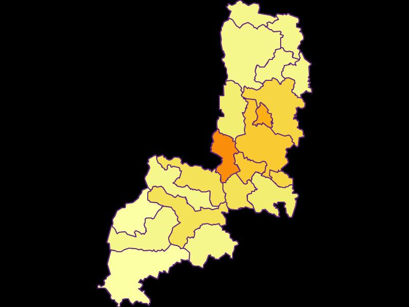 Плотность населения в Gmünd