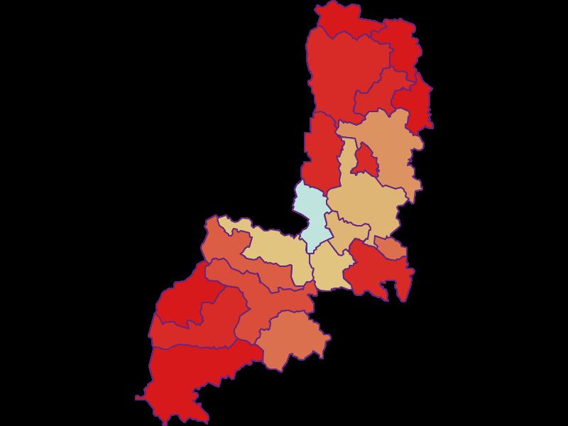 Демография с 1900 года в Gmünd