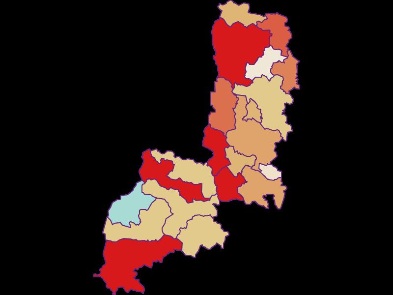 Демография с 2011 года в Gmünd