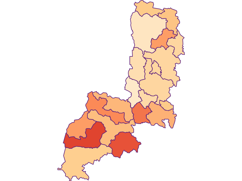 Размер домохозяйства в Gmünd
