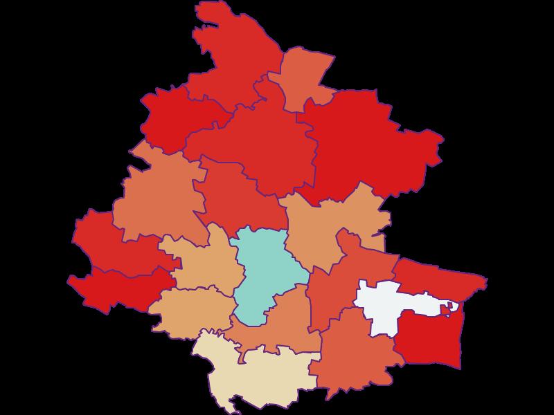 Демография с 1869 года в Horn