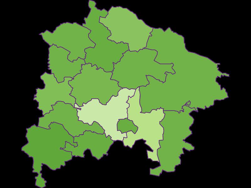Заселенность в Waidhofen an der Thaya