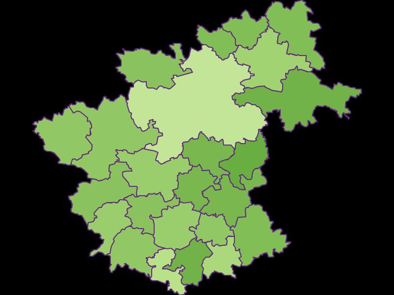 Заселенность в Zwettl