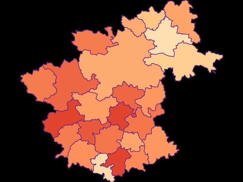Размер домохозяйства в Zwettl