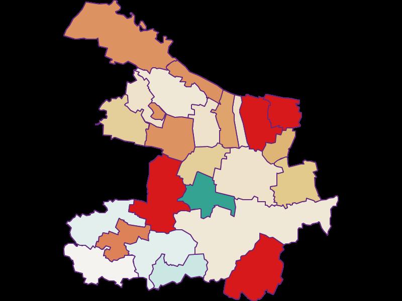 Population development since 2011 in Hollabrunn
