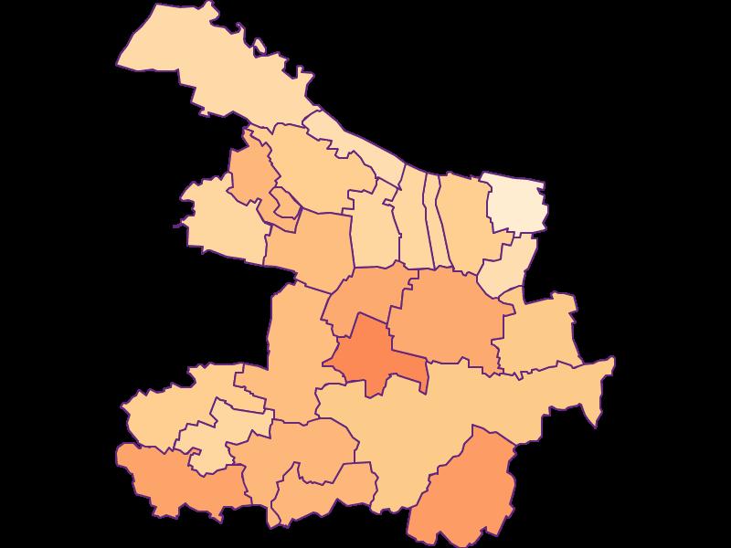 Household size in Hollabrunn