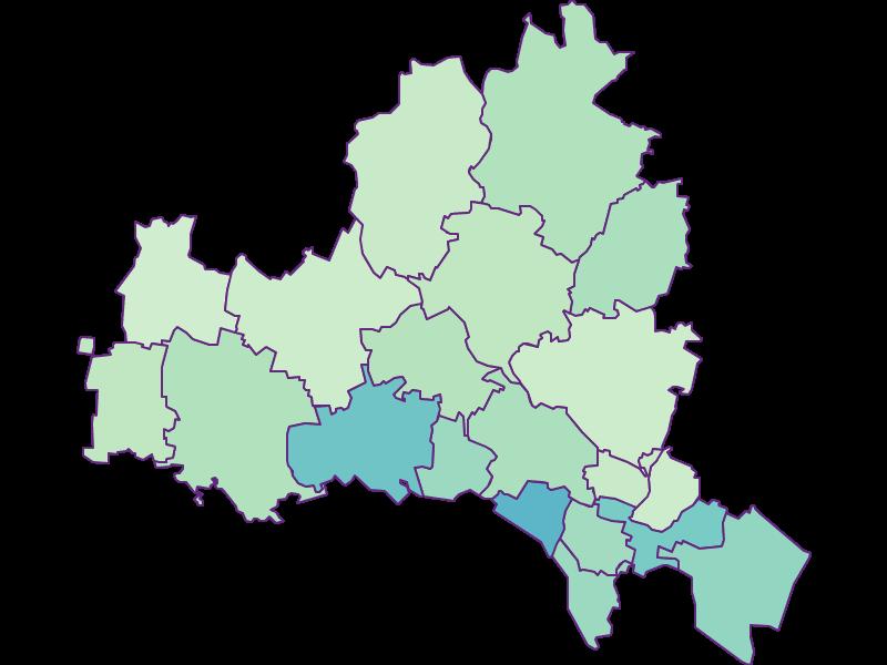Доля иностранцев в Korneuburg