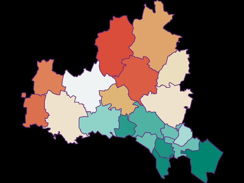 Демография с 1869 года в Korneuburg