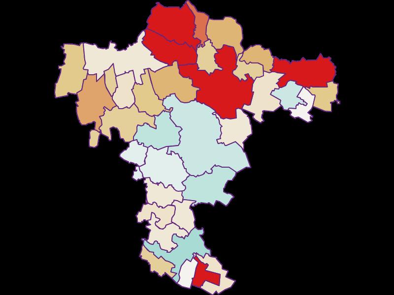 Демография с 2011 года в Mistelbach